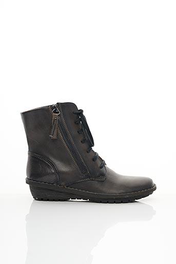 Bottines/Boots noir PIKOLINOS pour femme