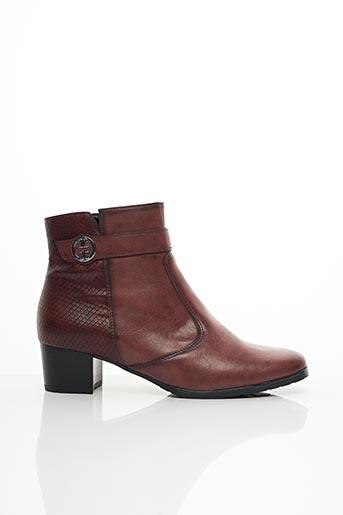 Bottines/Boots rouge JENNY pour femme