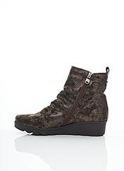 Bottines/Boots gris PAULA URBAN pour femme seconde vue