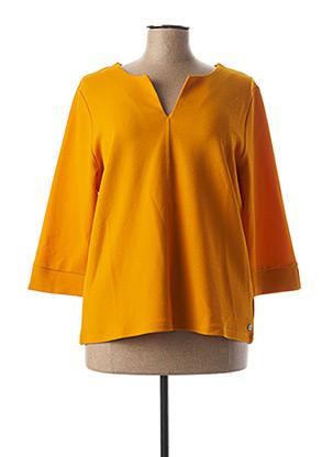 Top orange GARCIA pour femme