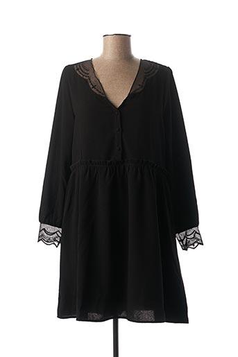 Robe courte noir CHERRY PARIS pour femme