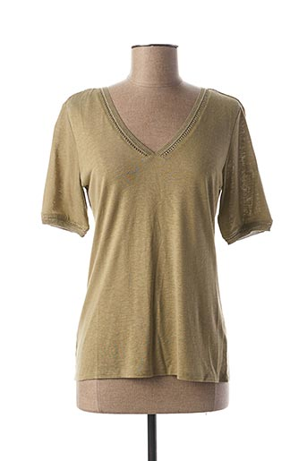 T-shirt manches courtes vert LOLA ESPELETA pour femme