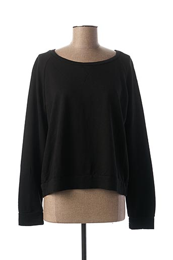 Sweat-shirt noir PAKO LITTO pour femme