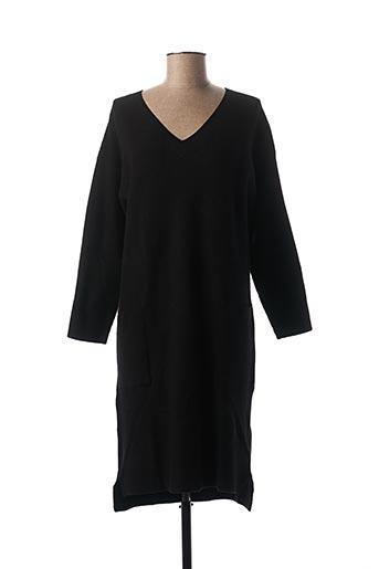 Robe pull noir COMPAÑIA FANTASTICA pour femme