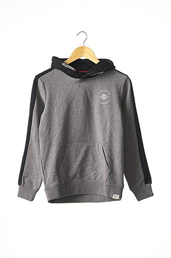 Sweat-shirt gris GARCIA pour garçon