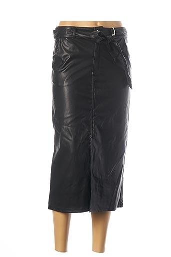 Jupe mi-longue noir CHERRY PARIS pour femme