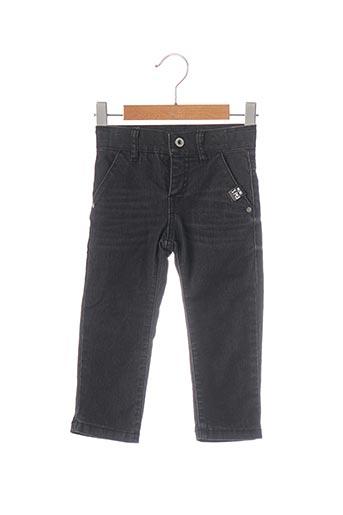Jeans coupe slim noir 3 POMMES pour garçon