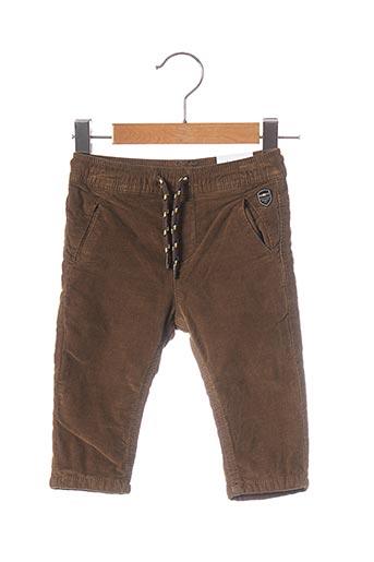 Pantalon casual marron MAYORAL pour garçon