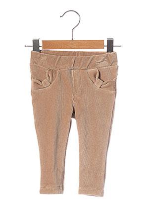 Pantalon casual beige ABSORBA pour fille