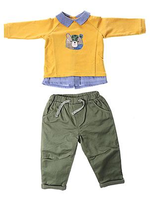 Top/pantalon jaune MAYORAL pour garçon
