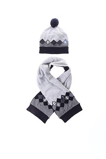 Bonnet gris MAYORAL pour garçon