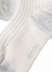 Collants blanc ABSORBA pour fille seconde vue
