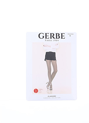 Collants gris GERBE pour femme