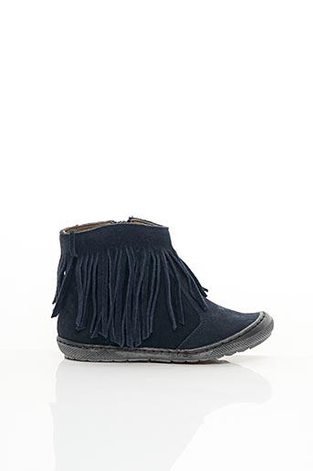 Bottines/Boots bleu BELLAMY pour fille