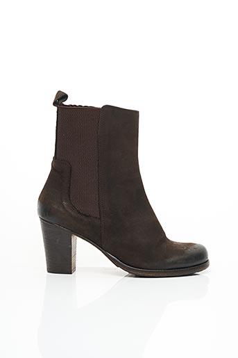 Bottines/Boots marron MALLY pour femme