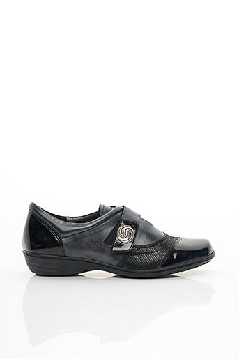 Chaussures de confort noir GEO-REINO pour femme