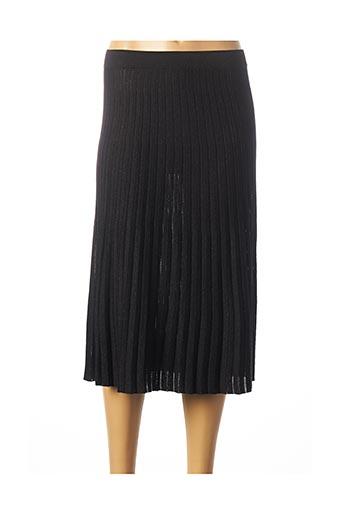 Jupe mi-longue noir LIU JO pour femme