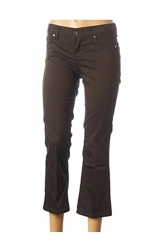 Pantalon 7/8 marron LIU JO pour femme