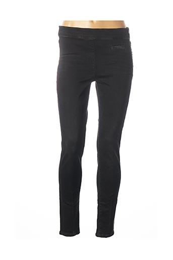 Pantalon casual noir MARC CAIN pour femme