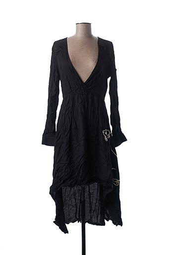 Robe longue noir ALIX pour femme