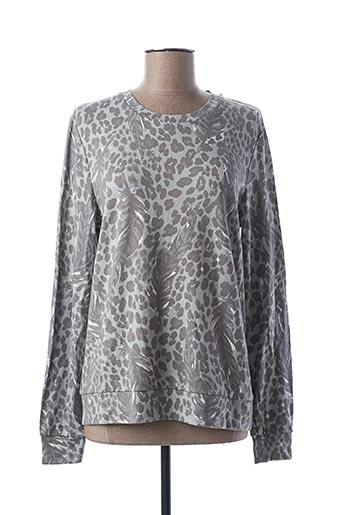 Sweat-shirt gris ALIX pour femme