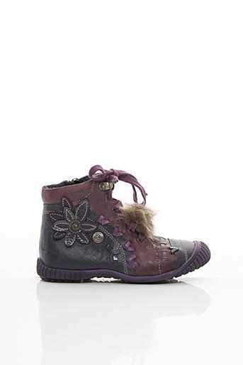 Bottines/Boots violet CATIMINI pour fille