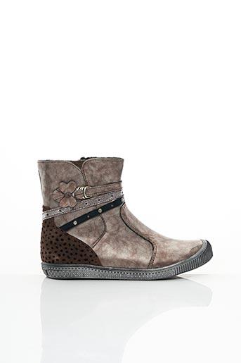 Bottines/Boots violet INTREPIDES PAR BABYBOTTE pour fille