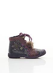 Bottines/Boots violet CATIMINI pour fille seconde vue