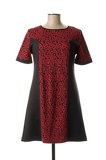 Robe courte rouge COM ELLE pour femme