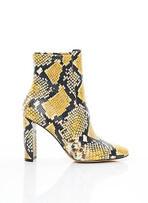 Bottines/Boots jaune ALDO pour femme