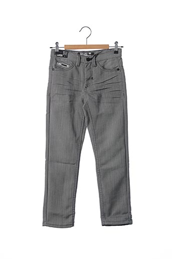 Jeans coupe droite gris EBOUND pour garçon