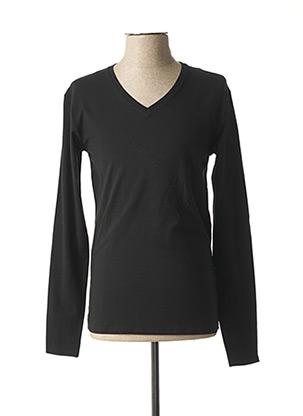 T-shirt manches longues noir EBOUND pour homme