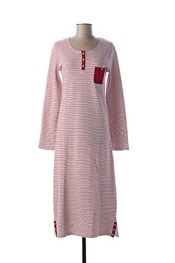 Chemise de nuit rouge CHRISTIAN CANE pour femme