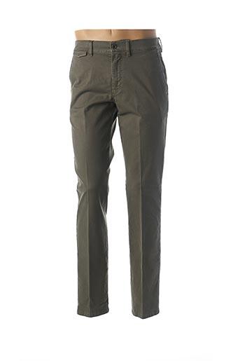 Pantalon casual vert LCDN pour homme