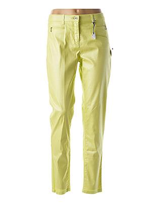 Pantalon casual vert CLUB OF COMFORT pour femme