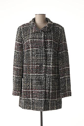 Manteau long noir BARBARA LEBEK pour femme