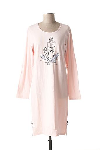 Chemise de nuit rose CHRISTIAN CANE pour femme