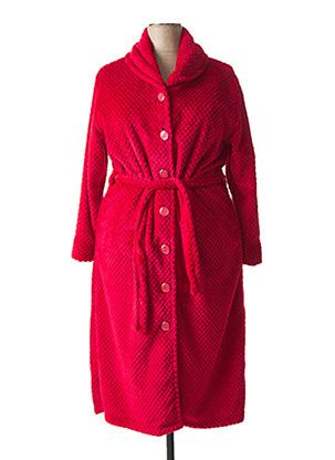 Robe de chambre rouge ROSE POMME pour femme