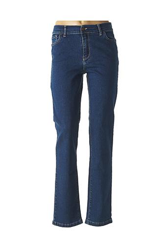 Jeans coupe droite bleu COWEST pour femme