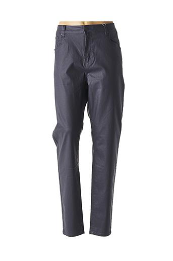 Jeans coupe droite bleu GEVANA pour femme