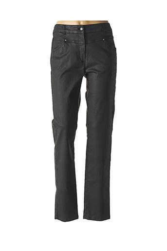 Jeans coupe droite noir PAUSE CAFE pour femme