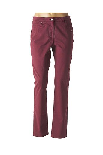 Pantalon casual rouge PAUPORTÉ pour femme