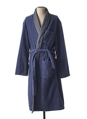 Robe de chambre bleu CHRISTIAN CANE pour homme