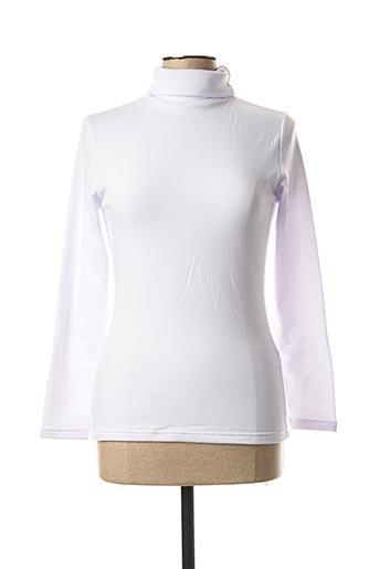 Sous-pull blanc YSABEL MORA pour femme