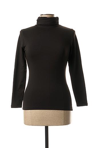 Sous-pull noir YSABEL MORA pour femme