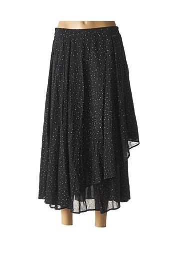 Jupe longue noir AGATHE & LOUISE pour femme
