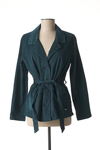 Veste casual vert AGATHE & LOUISE pour femme
