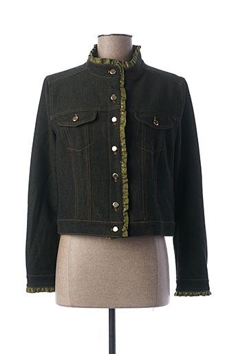 Veste chic / Blazer vert BLEU BLANC ROUGE pour femme