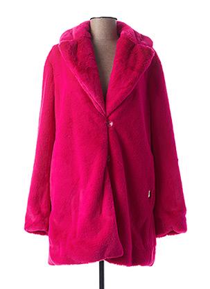 Manteau long rose AIRFIELD pour femme