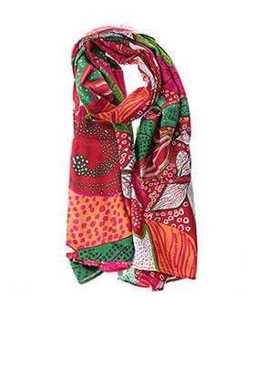 Foulard rouge COLINE pour femme